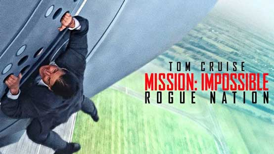 Mission Impossible 5 Aerial Stock Footage