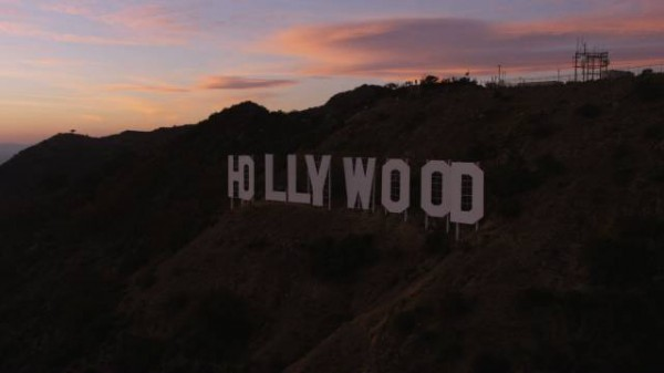 Stock Footage Hollywood Sign